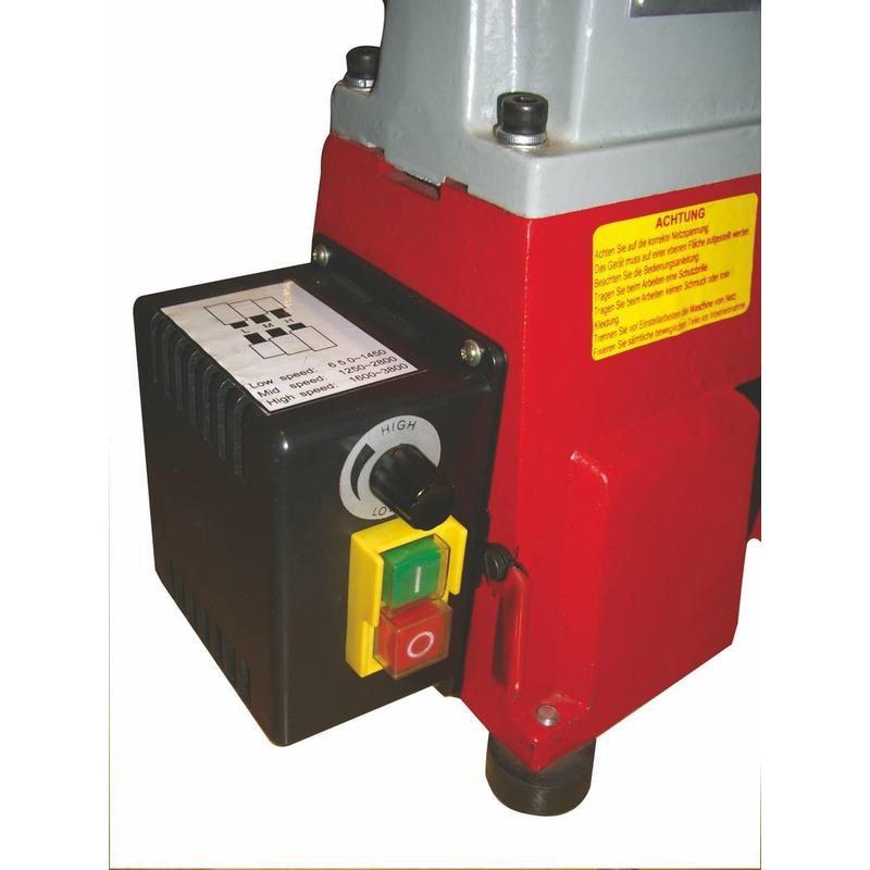 Tour à bois avec variateur L. 460 mm 230 V