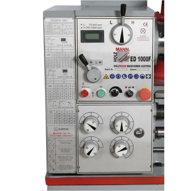 Tour à métaux ED 1000F 400V