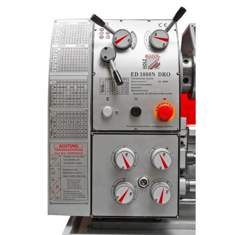 Tour à métaux ED1000N  400V